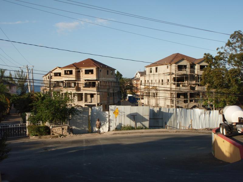 Works-In-Progress Cyrstal Cove Apts, Ocho Rios