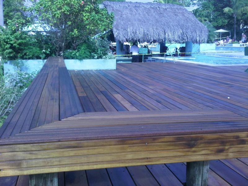 Couples Negril Greenheart Deck Supplied & Installed